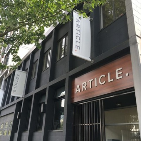 Article's current headquarters, located at 520 Alexander Street in Vancouver's Railtown district. (CNW Group/Article)