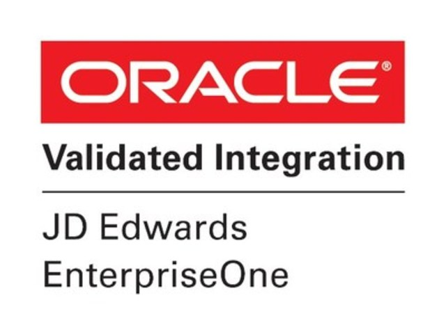 VersaPay ARC Achieves Oracle Validated Integration with Oracle's JD Edwards EnterpriseOne (CNW Group/VersaPay Corporation)