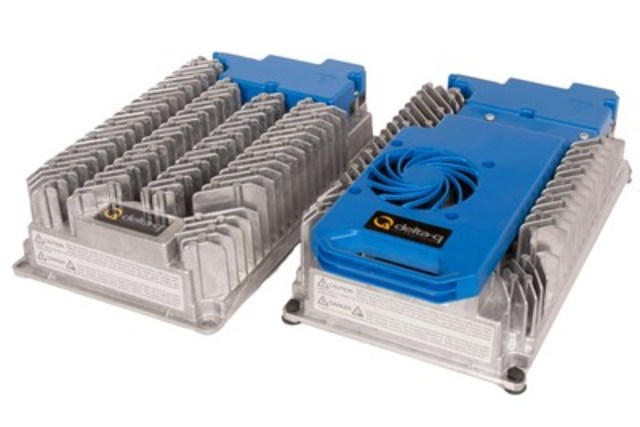 Delta-Q Technologies to showcase RC Series Battery Chargers at LogiMAT 2017 (CNW Group/Delta-Q Technologies Corp.)