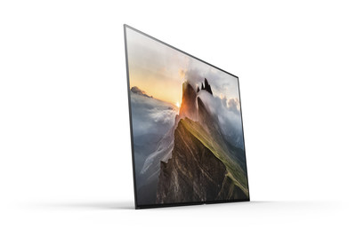 The BRAVIA OLED 4K HDR TV will be available in stores beginning in April 2017