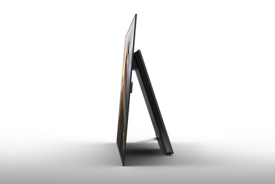 The XBR-A1E offers an edge-to-edge stand-less form factor