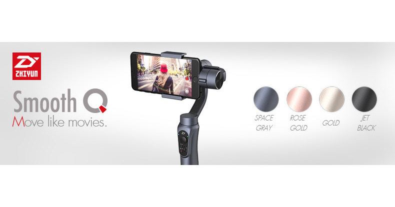 an exploration of the blockbuster smartphone gimbal zhiyun smooth q featured by ground. Black Bedroom Furniture Sets. Home Design Ideas