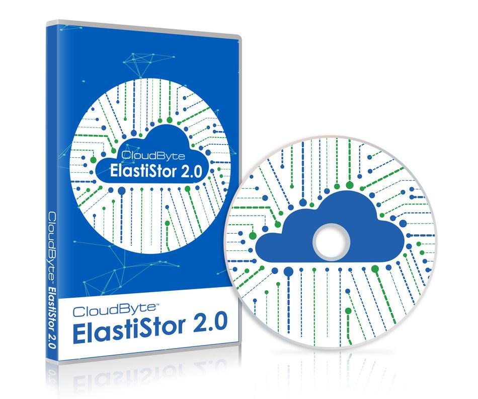 CloudByte ElastiStor 2.0 (PRNewsFoto/CloudByte Inc)