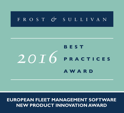 BestMile Receives 2016 European Fleet Management Software New Product Innovation Award