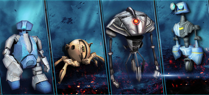 Tower Defense Game Intruders Offers Hours of Strategic Robot Fighting Fun (PRNewsFoto/Mustplay Games)