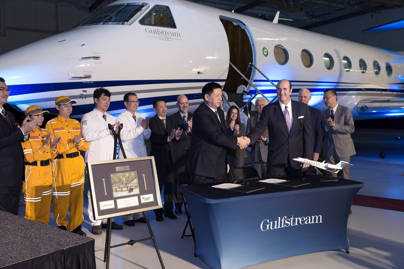 Gulfstream Aerospace Corp. today announced its Gulfstream G550 aircraft has been selected to launch state-of-the-art medevac services in Beijing. The Gulfstream aircraft will be outfitted with top-of-the-line medevac equipment in support of the Beijing Red Cross Emergency Medical Center.