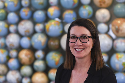 Joan Sharp, Rand McNally's Vice President and General Manager of Publishing and Education