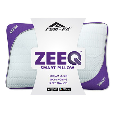REM Fit ZEEQ Smart Pillow, Stop Snoring