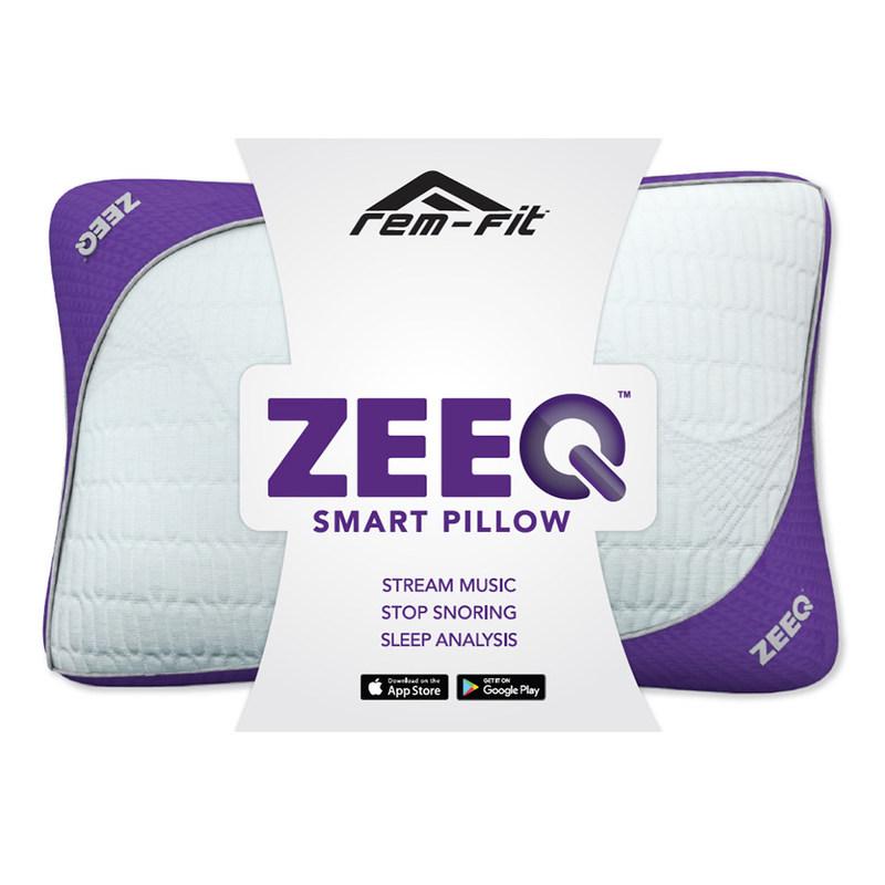 ZEEQ Smart Pillow (PRNewsFoto/REM-Fit)
