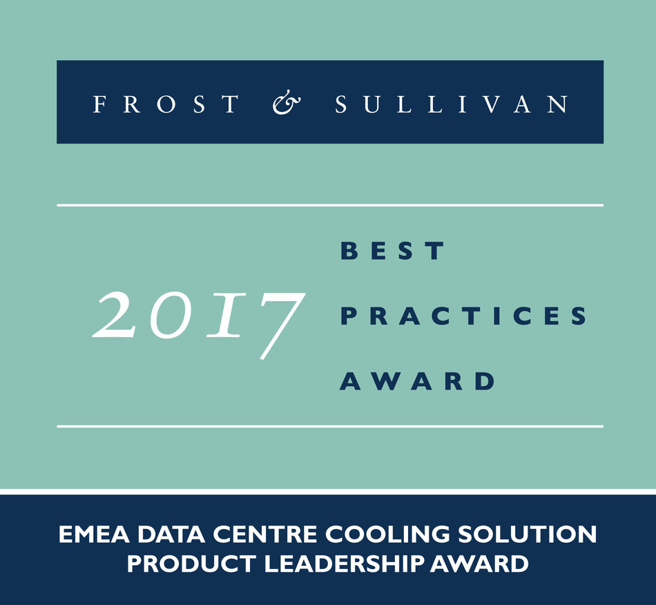 Based on its recent analysis of the data centre cooling solution market, Frost & Sullivan recognises Vertiv(TM), formerly Emerson Network Power, with the 2017 Product Leadership Award.