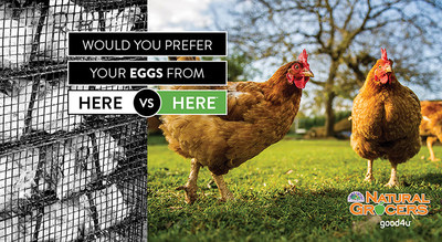 Natural Grocers Launches New Ad Campaign to Advocate for Animal Welfare Standards and Organic, Sustainable Food Practices
