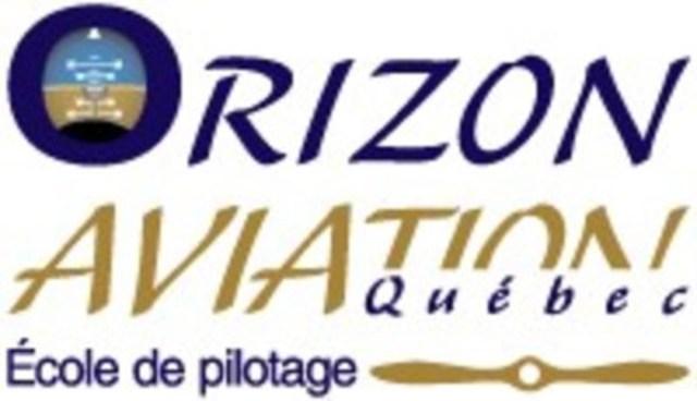 Logo : Orizon Aviation Québec - École de pilotage (Groupe CNW/Collège Mérici)