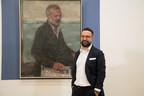Gareth Reid announced today as the winner of the Sky Arts Portrait Artist of the Year 2017 (PRNewsFoto/StoryVault Films and Sky Arts)