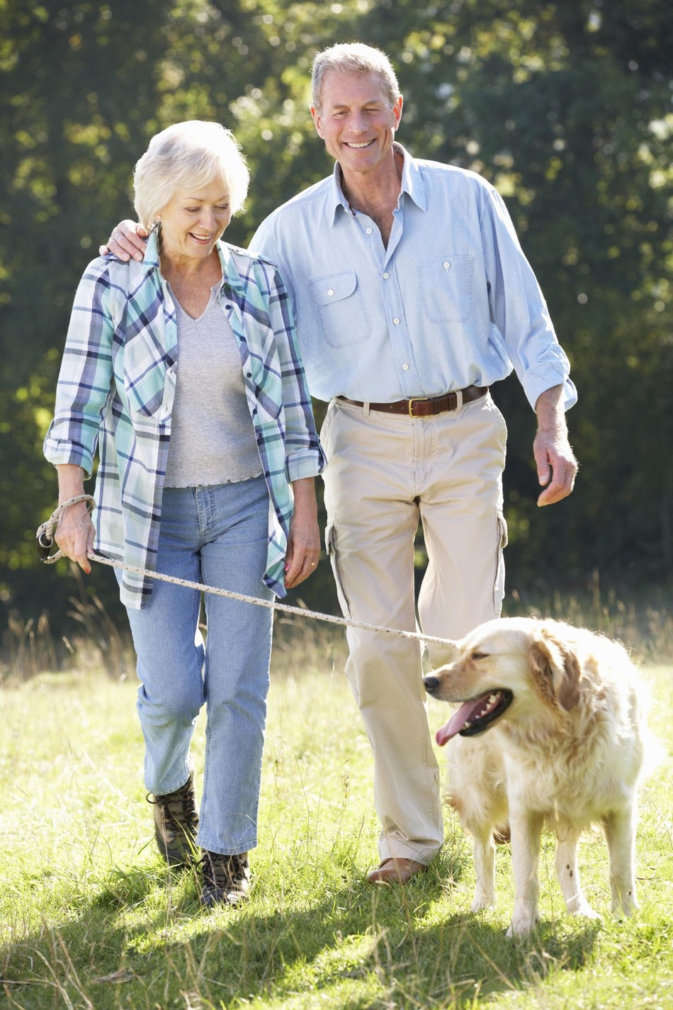 Adults aged 65 and over walk more if they own a dog (PRNewsfoto/Mars Petcare)