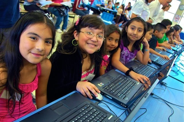 Comp-U-Dopt is a Houston-based nonprofit organization with a mission to provide technology access and education to underserved youth.