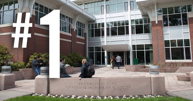U.S. News & World Report has ranked Babson's MBA program No. 1 in entrepreneurship for the 24th consecutive year in the publication's 2018 list of Best Graduate Schools.