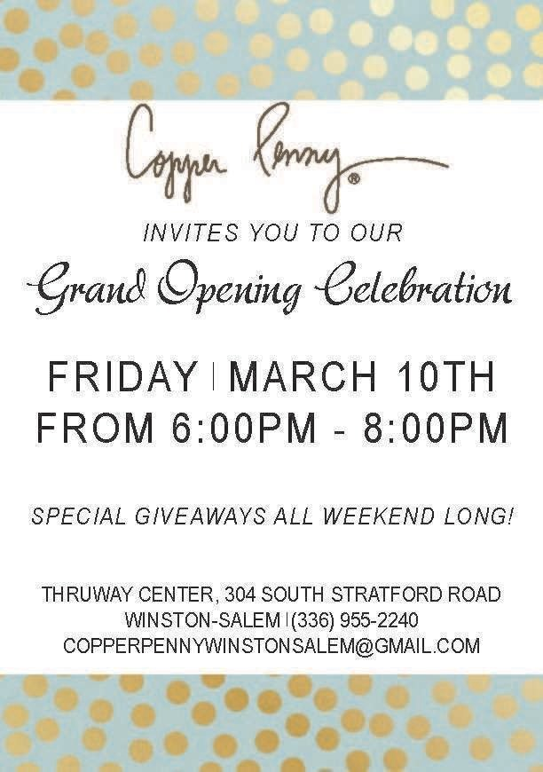 Upscale Women's Boutique Copper Penny Now Open in Winston-Salem, North Carolina
