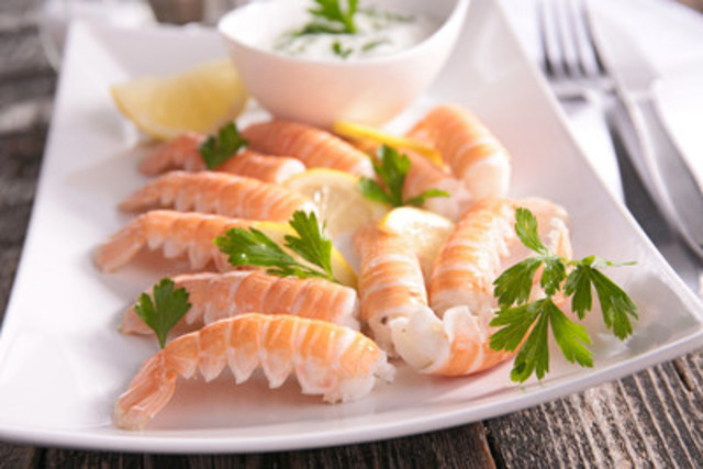 Clearwater expands its Norway Lobster product range with the introduction of Shell-on Tails, Hand-peeled, Deveined Shell-off Tails and Tail Clusters to the North American marketplace. (CNW Group/Clearwater Seafoods Incorporated)
