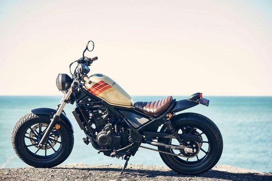 Aviator Nation + 2017 Honda Rebel motorcycle
