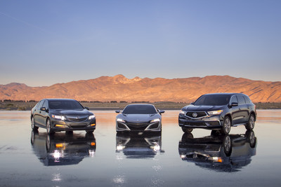 The 2017 Acura MDX Sport Hybrid applies a variation of Acura's 3-motor Sport Hybrid Super Handling All-Wheel Drive (SH-AWD) system from the NSX to create Acura's first-ever hybrid SUV.