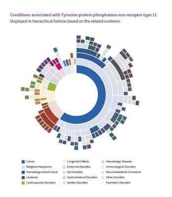 这张图片就是Target Druggability直观展示结果的示例。