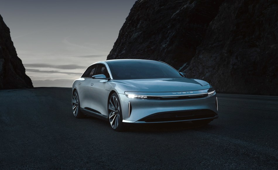 Pictured: Lucid Air Starting at $52,500