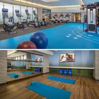 Courtyard Silver Spring North Pumps Up Its Fitness Center with More Space and Equipment