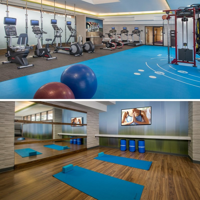 Courtyard Silver Spring North unveiled a newly remodeled and one-of-a-kind fitness center, which increased from 400 to 2,359 square feet of space. The gym features areas for cardio, weightlifting, CrossFit, yoga and Pilates. For information, visit CourtyardSilverSpring.com or call 1-301-680-8500.