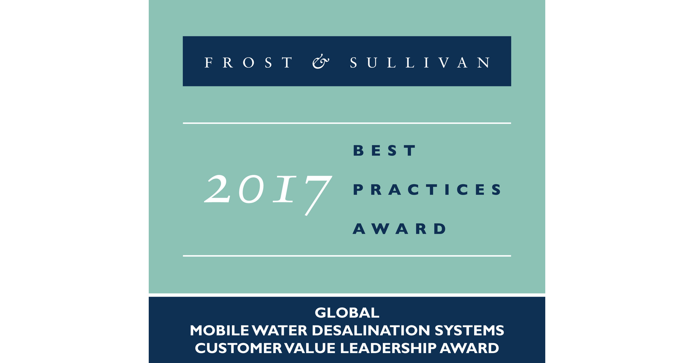 Frost & Sullivan mends RWL Water for the Versatility Cost