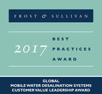 Frost & Sullivan Commends RWL Water for the Versatility, Cost Effectiveness, and Technical Excellence of its Mobile Desalination System, the Nirobox™