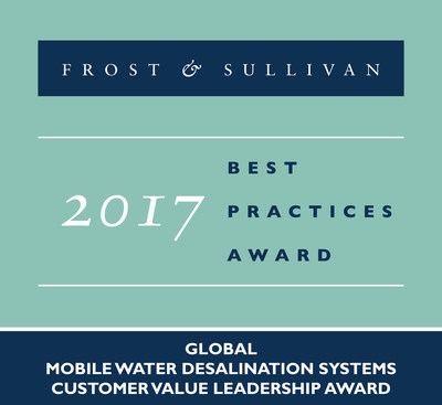 Frost & Sullivan Commends RWL Water for the Versatility, Cost Effectiveness, and Technical Excellence of its Mobile Desalination System, the Nirobox(TM)