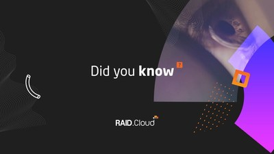 www.RAID.Cloud. WeDo Technologies. Know the Unknown. (PRNewsFoto/WeDo Technologies)