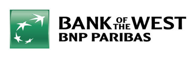 The new Bank of the West logo. (PRNewsfoto/Bank of the West)