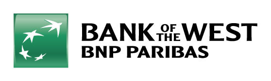 The new Bank of the West logo.