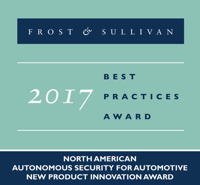 Frost & Sullivan Recognizes Karamba Autonomous Security with 2017 New Product Innovation Award in the Automotive Industry