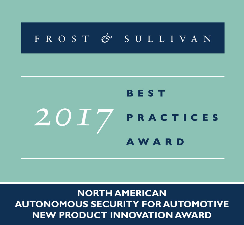 Frost & Sullivan Recognizes Karamba Autonomous Security with 2017 New Product Innovation Award in the Automotive Cybersecurity Industry