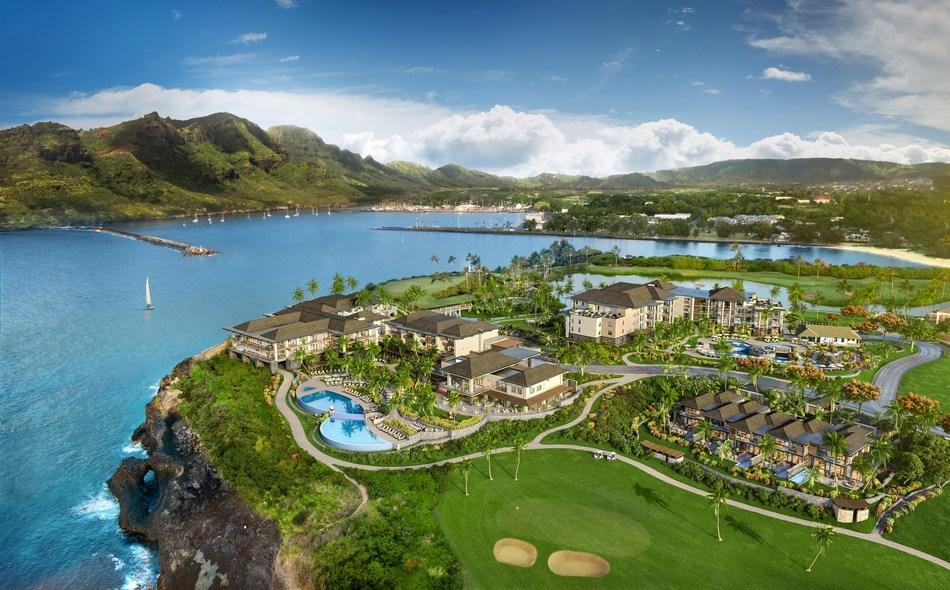 An aerial view of Timbers Kaua'i - Ocean Club & Residences