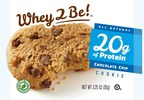 Whey To Be!® Launches Gourmet Cold-Pressed Whey Protein Cookies