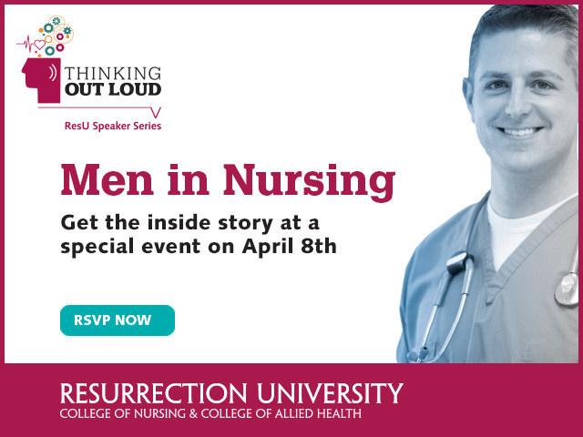 ResU's Men in Nursing Event