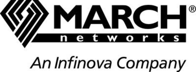 Logo: March Networks Corporation (CNW Group/MARCH NETWORKS CORPORATION)