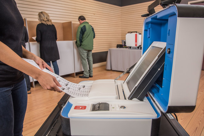 Hart InterCivic's easy to use Verity Voting system supports the entire election cycle for all voting types - whether paper or electronic - in one versatile platform.