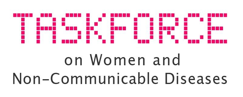 Taskforce on Women and NCD logo