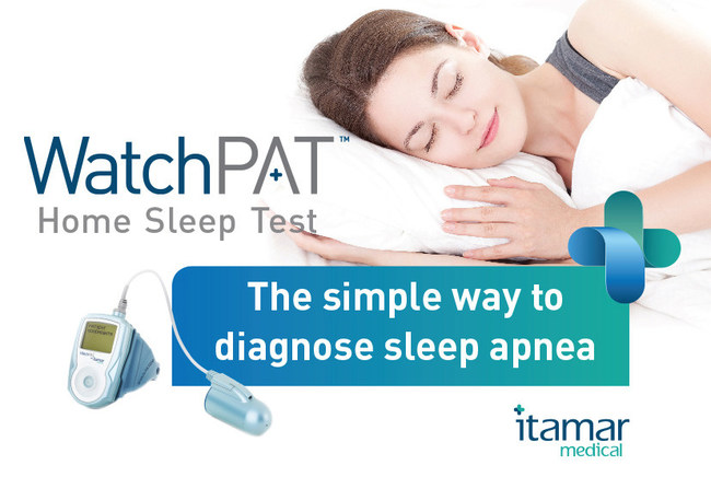 WatchPAT(TM) Home Sleep Test The simple way to diagnose sleep apnea Simple, Accurate, Fast and Reliable. Measures True Sleep Time and Complete Sleep Architecture. Clinically validated to have 90% correlation to In-Lab PSG.