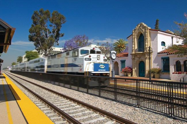 Southern Californians can take Metrolink to Claremont, California's historic depot to experience the city's upcoming food, shopping and entertainment events.
