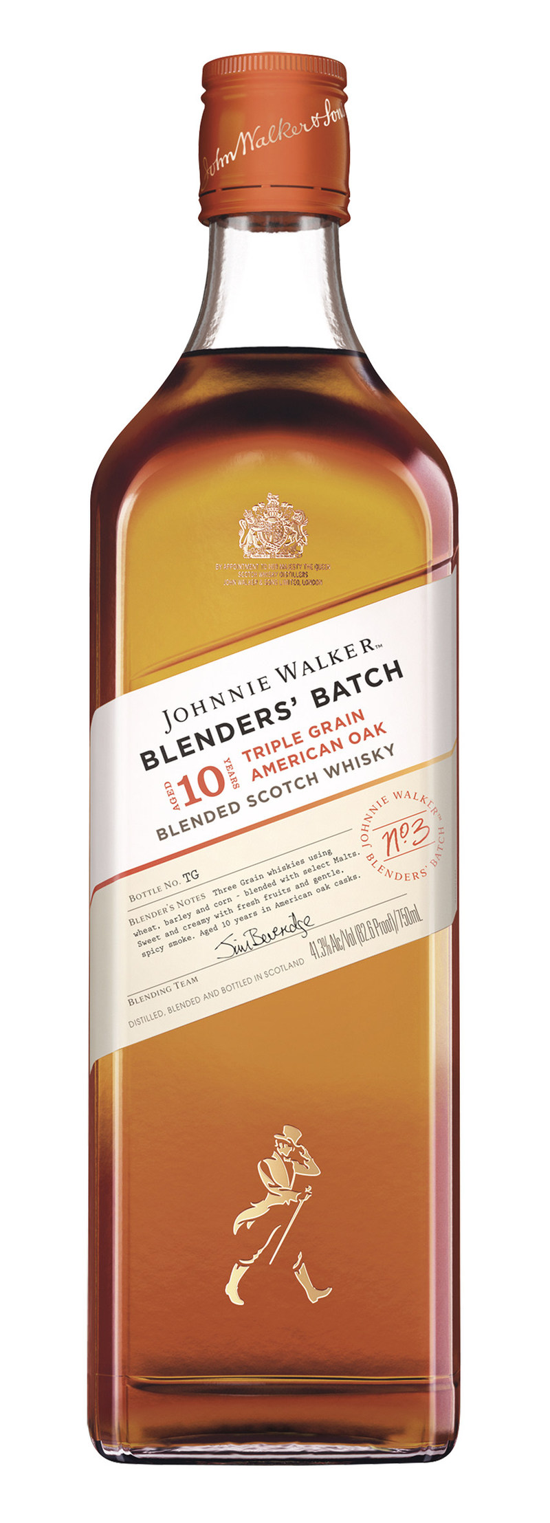 Johnnie Walker, the world's #1 selling blended Scotch whisky, launches new Blenders' Batch platform in the U.S with Triple Grain American Oak.