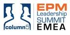 Column5 Announces Dates & Added Training for EMEA EPM Leadership Summit