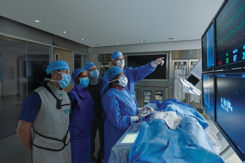 Terumo offers high-performance devices that enable interventional cardiologists to perform cardiac catheterizations through the radial artery in the wrist, an approach associated with better patient outcomes and reduced bleeding complications.