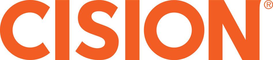 Cision logo.