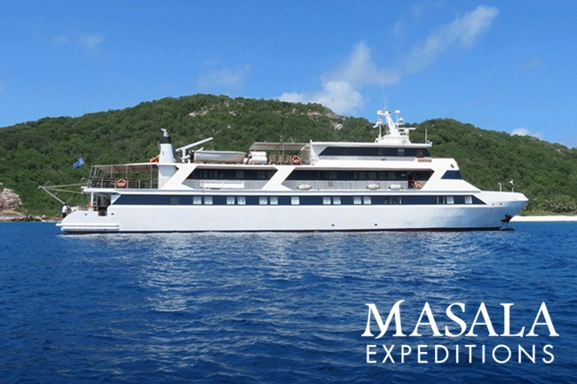 Masala Expeditions launches six new small ship cruises. Pictured is the luxurious and intimate M/Y Voyager.