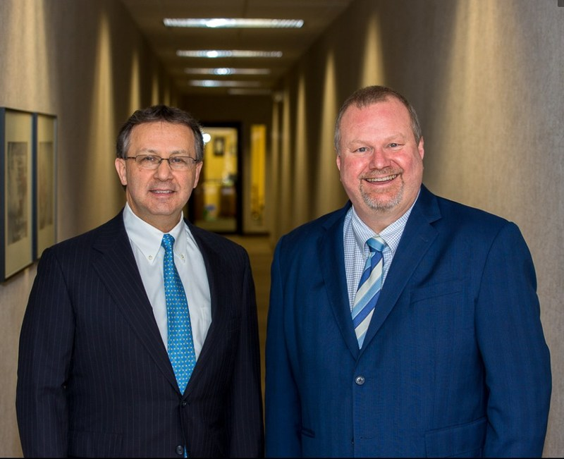 Rene Robichaud (left) and Peter Kubasek (right), partners at Cincinnati-based ArkMalibu.